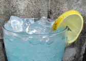 Mavi kokteyl — Stok fotoğraf