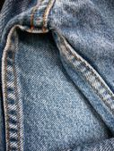 Jeans with seams background — ストック写真