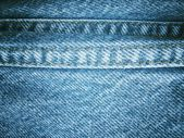 Jeans with seams background — Foto de Stock