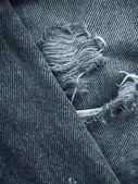 Jeans with seams background — Stockfoto