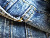 Vintage jeans with seams background — Foto de Stock