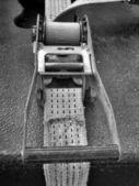 Ratchet strap — Stock Photo