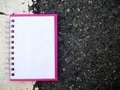 Cuaderno de papel — Foto de Stock