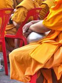 Buddistisk munk — Stockfoto