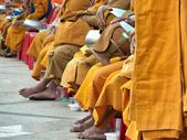 Buddhist monk's — Stock Photo
