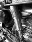 Shock absorber car — Stock Photo