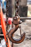 Tow old chain — Stock Photo