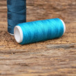 Stock Photo: Bobbins thread