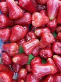 Růžové jablko — Stock fotografie