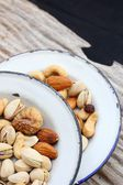 Mix of tasty nuts  — Stockfoto
