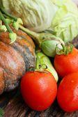 Mix van verse groenten — Stockfoto