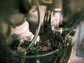 Closeup of a engine  — Stok fotoğraf
