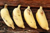 Ripe banana — Stockfoto