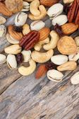 Mix of tasty nuts  — Photo