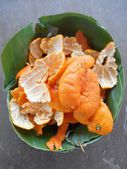 Orange peel  — Photo