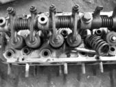 Old engine — Stock Photo