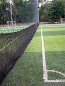 Soccer field grass — Stock Photo