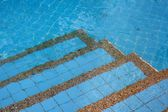 Blue swimming pool  — Photo