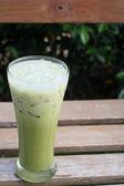 Soft drink of green tea  — Stock Photo