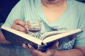 Lifestyle of women drink coffee  — Stock Photo