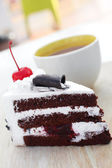 Chocolate cake  — Stockfoto