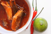 Fish in tomato sauce  — Stock Photo