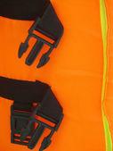 Orange life jacket  — Stock Photo