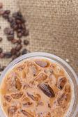 冰的咖啡 — 图库照片