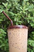 Iced coffee — Stock Photo
