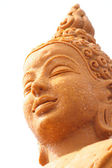 Candles buddha statue  — Stock fotografie