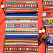 Foto de Stock  : Colorful graphic hill tribe hand made bag