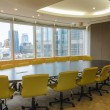 Big conference room in high building — Stock Photo #26894609