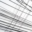 Stock Photo: Untidy electrical wire