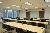 Training room in office building — Foto Stock