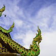 Traditional northern thai temple roof — Stock Photo #29486617