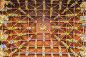 Traditional ancient chinese decorative ceiling — Stock Photo