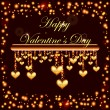 Royalty-Free Stock Vector Image: Happy valentine\'s day invitation card