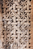 Patterned artwork in the ceiling — Stock Photo