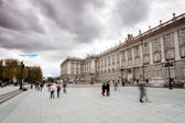 The Royal Palace in Madrid (Spain) — Stock Photo
