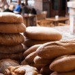 Bread offered for sale — Stock Photo