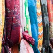 Stock Photo: Colorful shawls and scarfs
