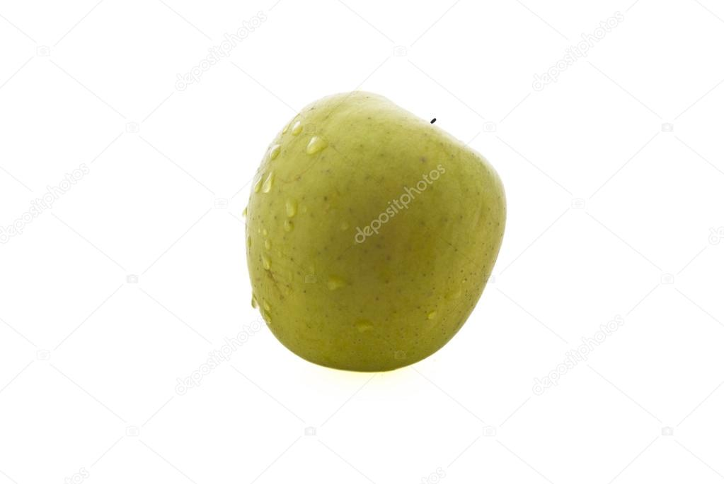 Apple on a white background — Stock Photo #12041301