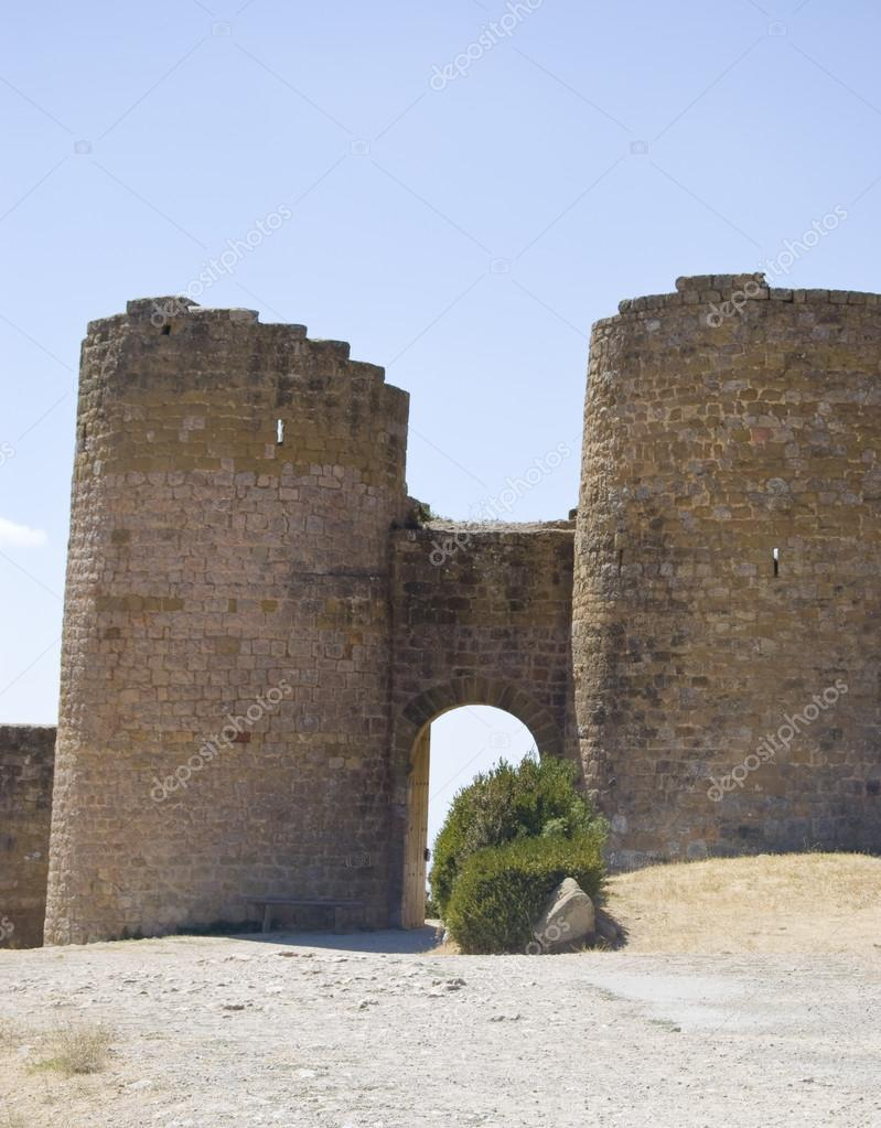 Ancient arc of a castle — Stock Photo #14643407