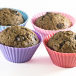 Chocolate muffins - Photo