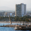 Panoramic view of Salou — Stock Photo