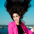Fashion woman with magnificent hair. — Stock Photo