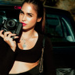 Beautiful photographer — Stock Photo #35639233