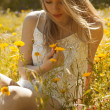 Woman in meadow — Stock Photo #47142671