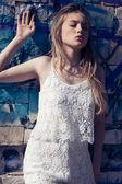 Kobieta moda — Zdjęcie stockowe
