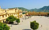 Amber fort ayında jaipur, hindistan — Stok fotoğraf